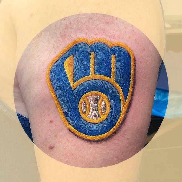 Вышитые татуировки от сиднейского тату-художника Мина Зуми