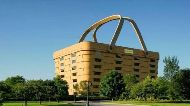 Здания самых разных форм и размеров