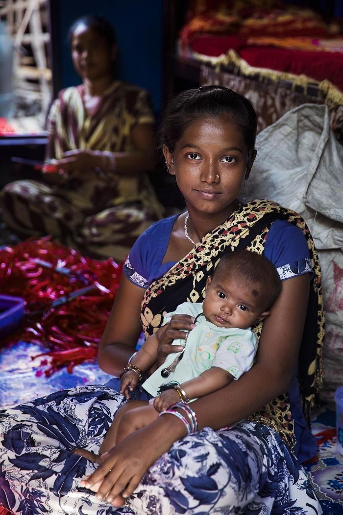 Красота материнства из разных стран на снимках Михаэлы Норок