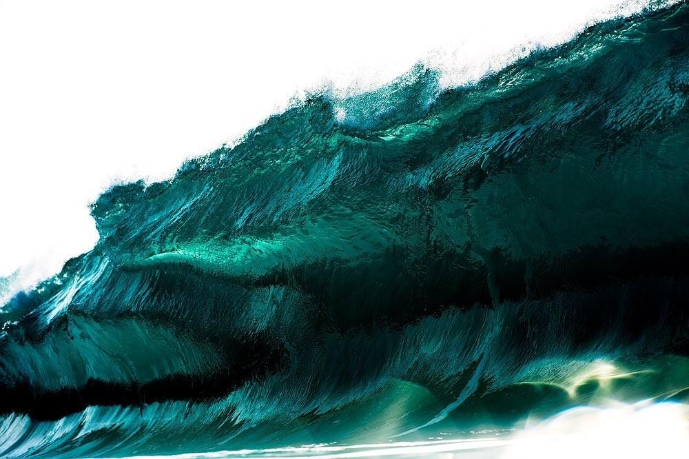 Красота волн на снимках Рэя Коллинза