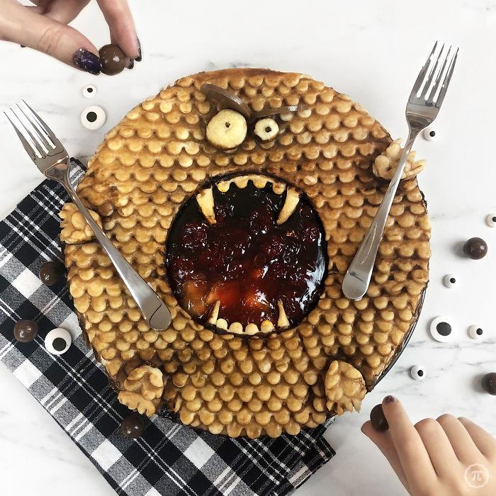 Пироги на Хэллоуин от канадской любительницы оригинальной выпечки