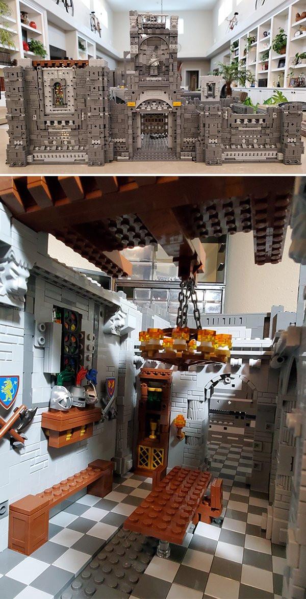 Примеры удивительных конструкций из кирпичиков LEGO