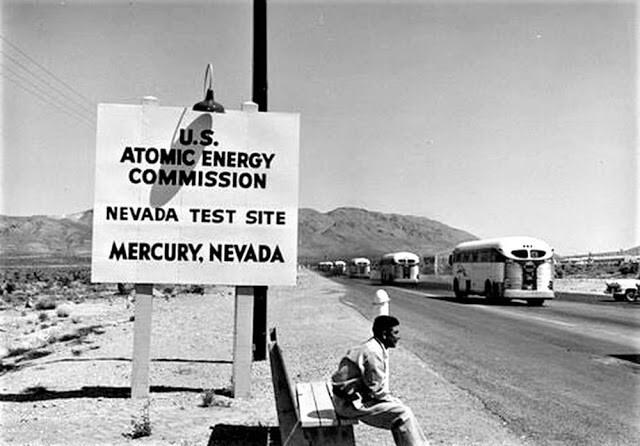 Ядерные взрывы были аттракционом для туристов в 50-е