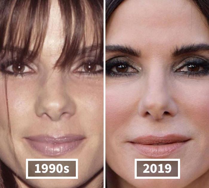 Лица знаменитостей на снимках тогда и сейчас