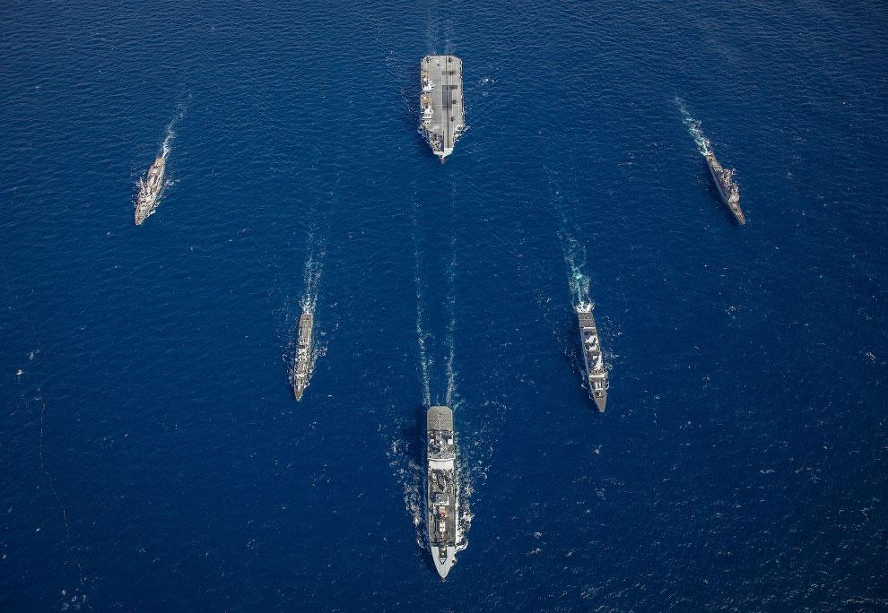 Лучшие снимки Королевского флота Великобритании