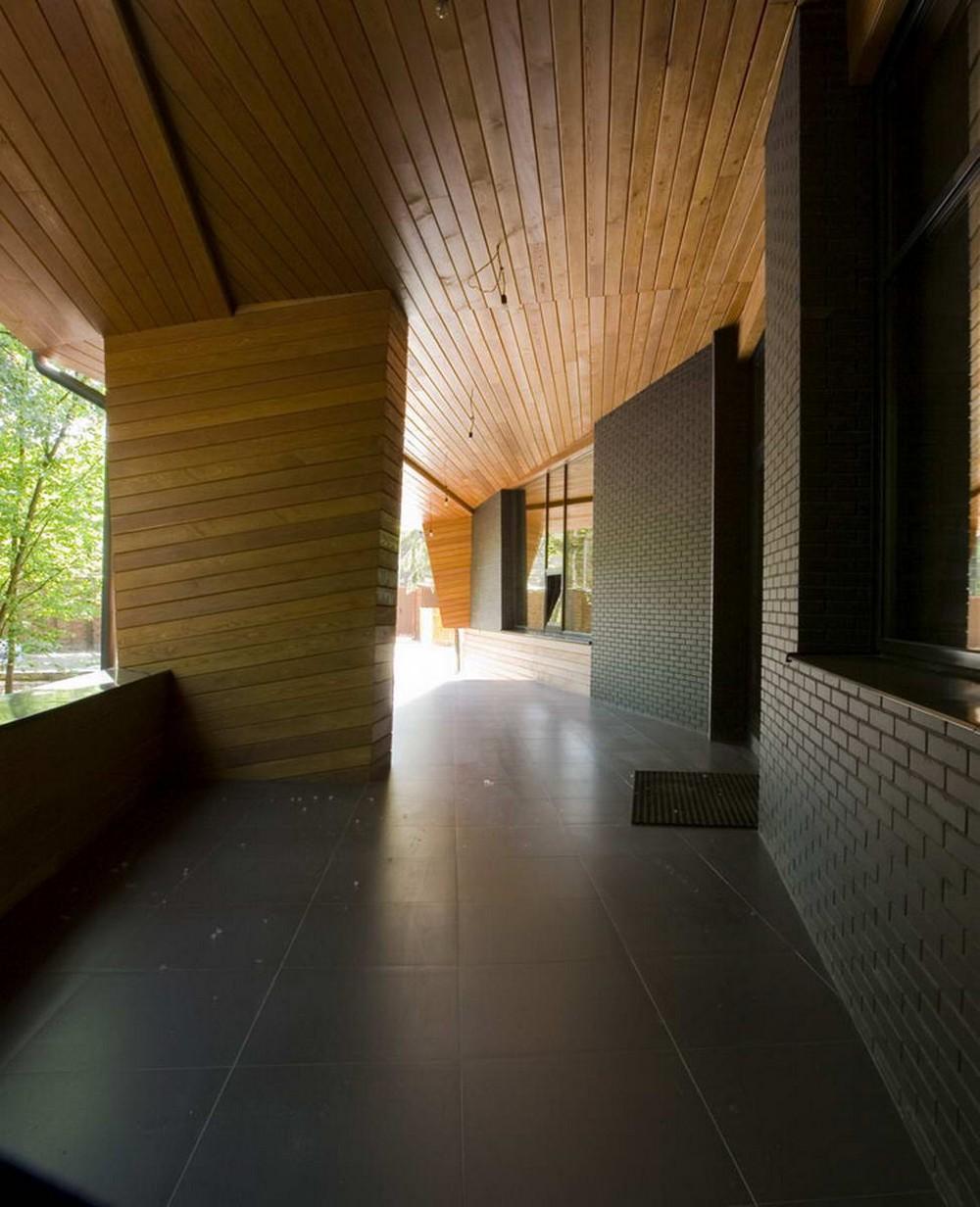 Деревянный загородный дом в Подмосковье
