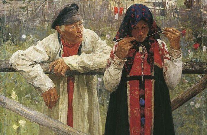 Как на Руси девушки спасались от липучих женихов
