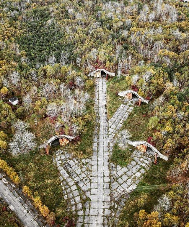 Кладбища советской военной техники
