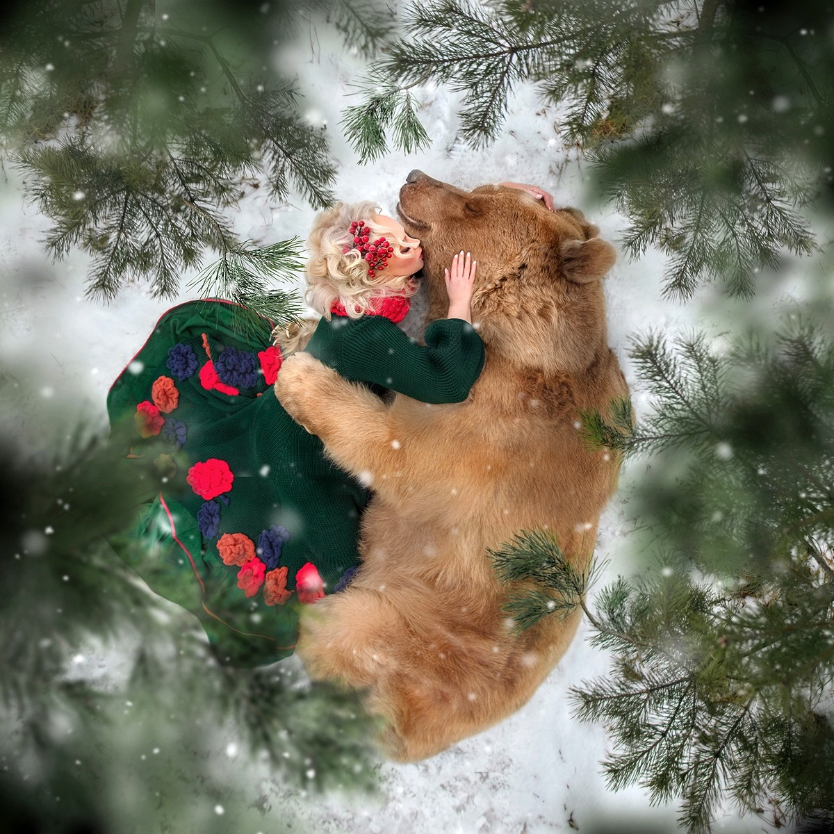 Русский медведь Степан стал популярной моделью