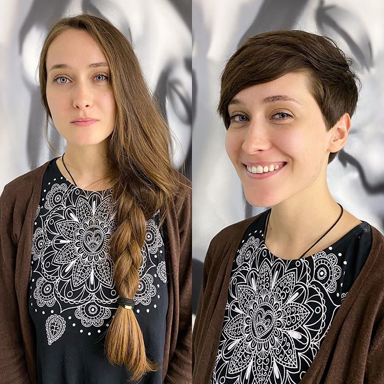Эти женщины решили изменить прическу и результат им понравился