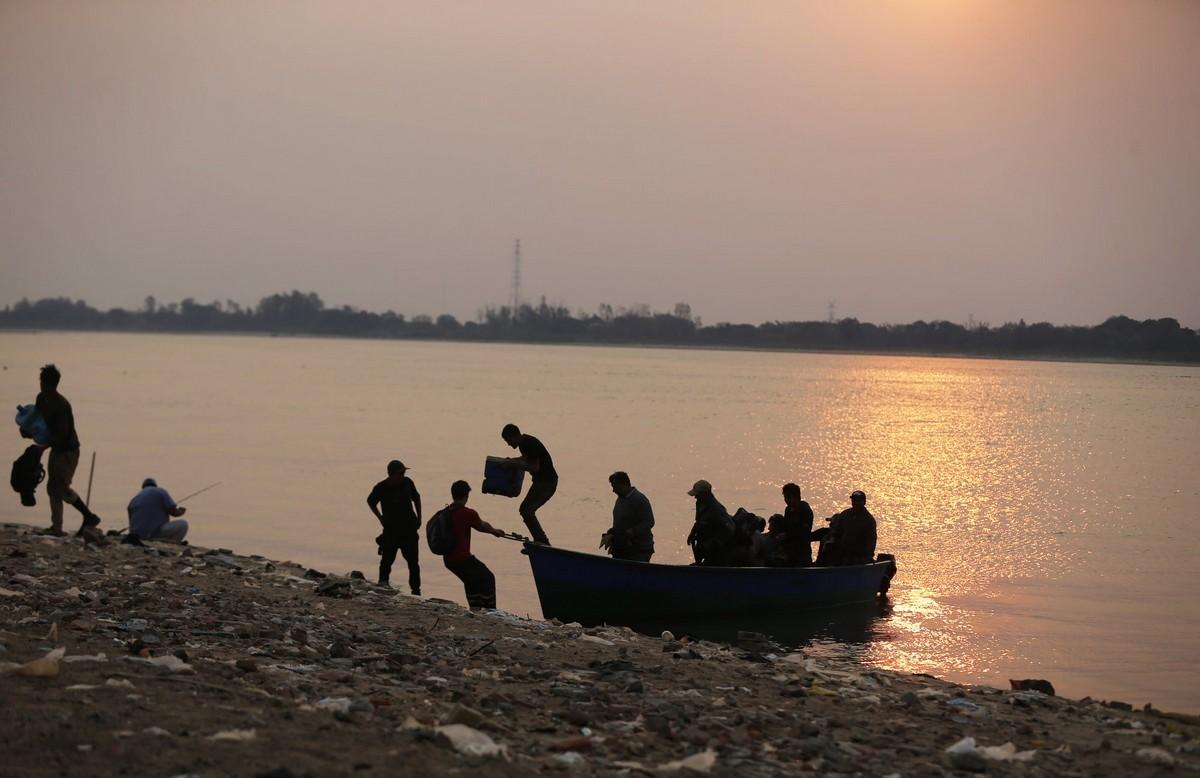 Длительная засуха истощает реку Парагвай