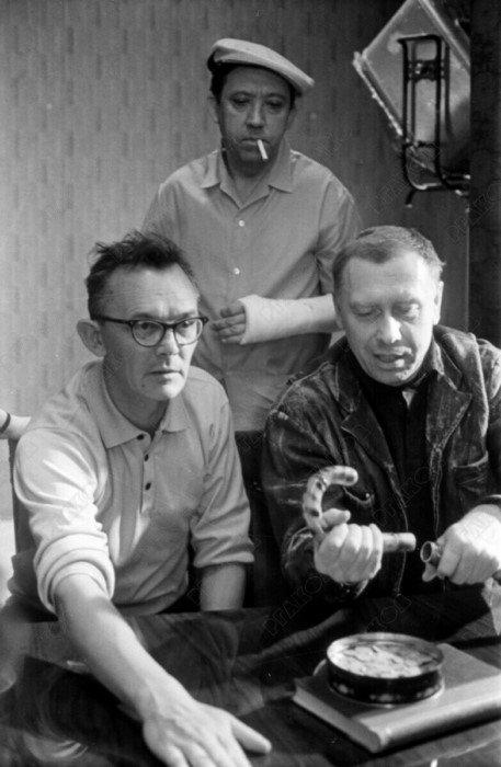 Интересные кадры со съемок культовых советских фильмов