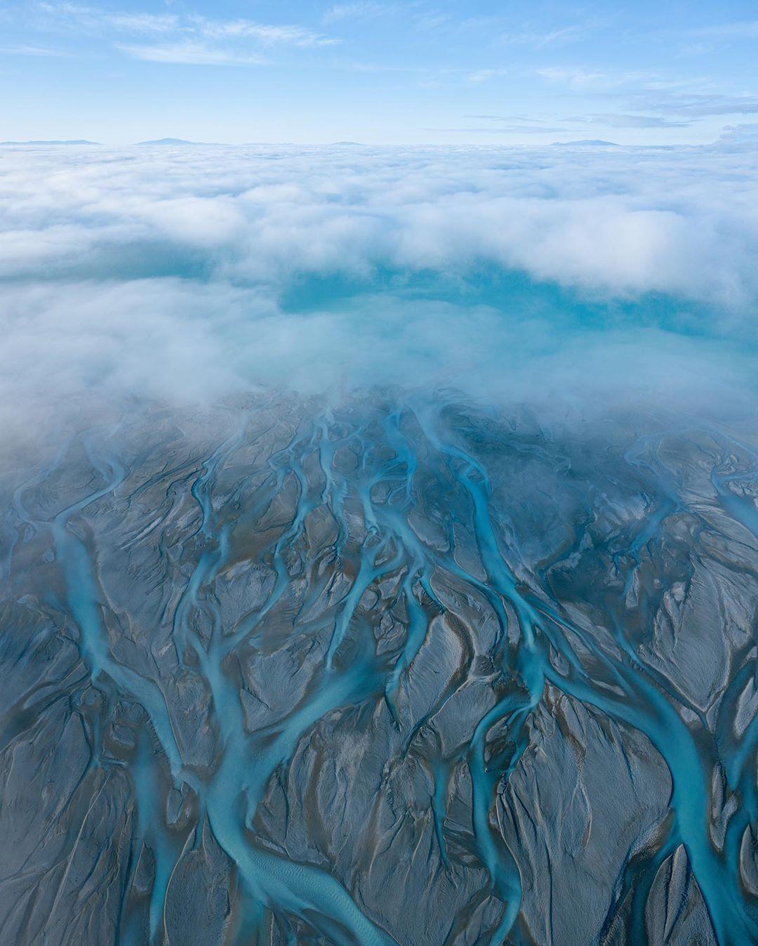 Красота нашей планеты на аэрофотоснимках Зака Теста