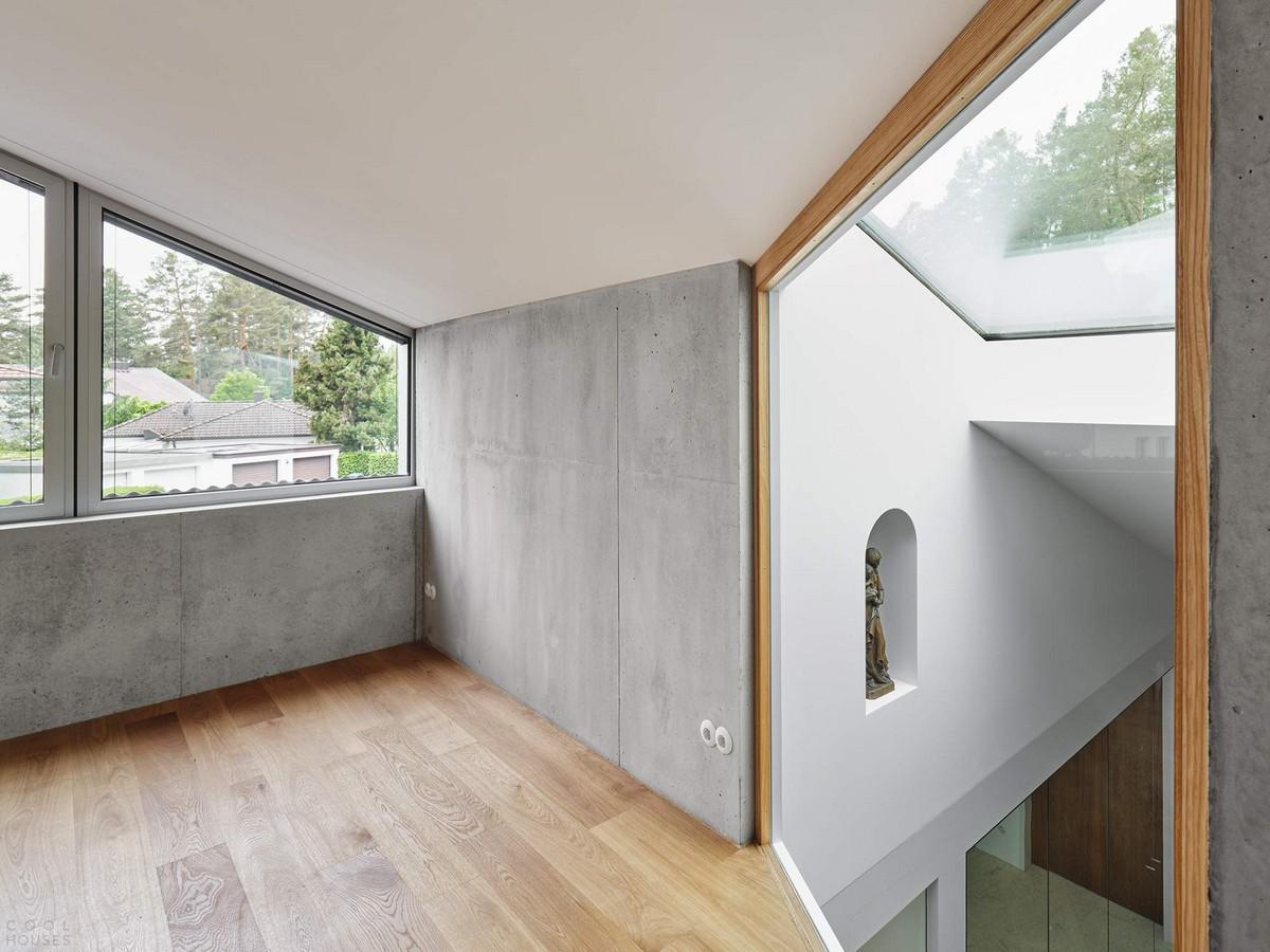 Семейная резиденция из монолитного бетона в Германии