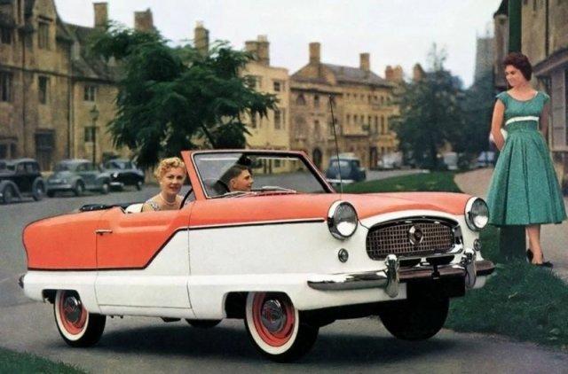 Nash Metropolitan - необычная машина, созданная специально для девушек