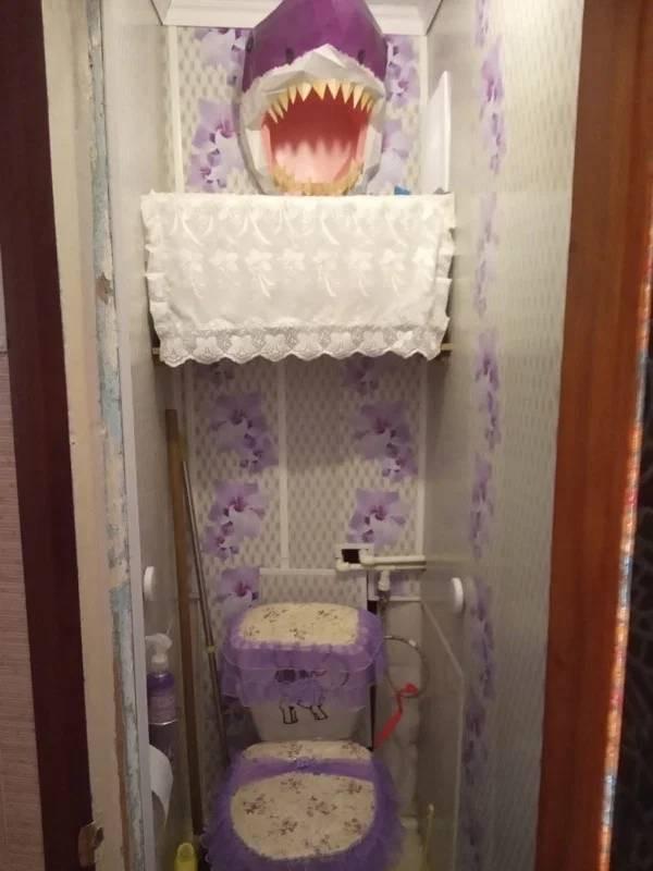 Дизайн этих туалетов вызывает много вопросов