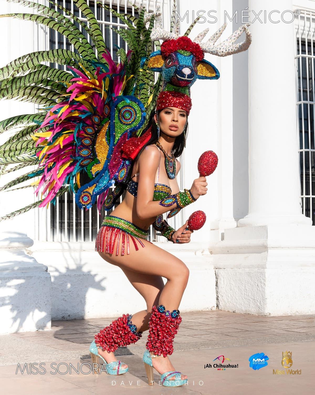 Экстравагантные наряды красоток с конкурса Мисс Мексика