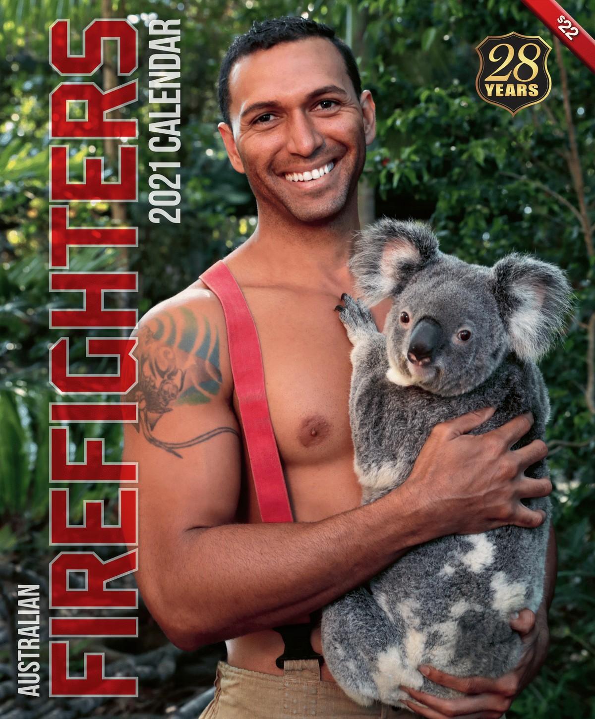Календари с австралийскими пожарными на 2021 год