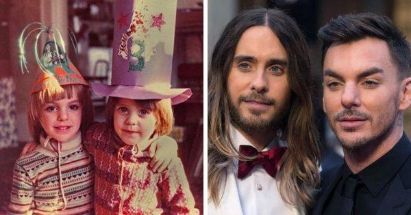 Знаменитые братья и сестры на снимках тогда и сейчас