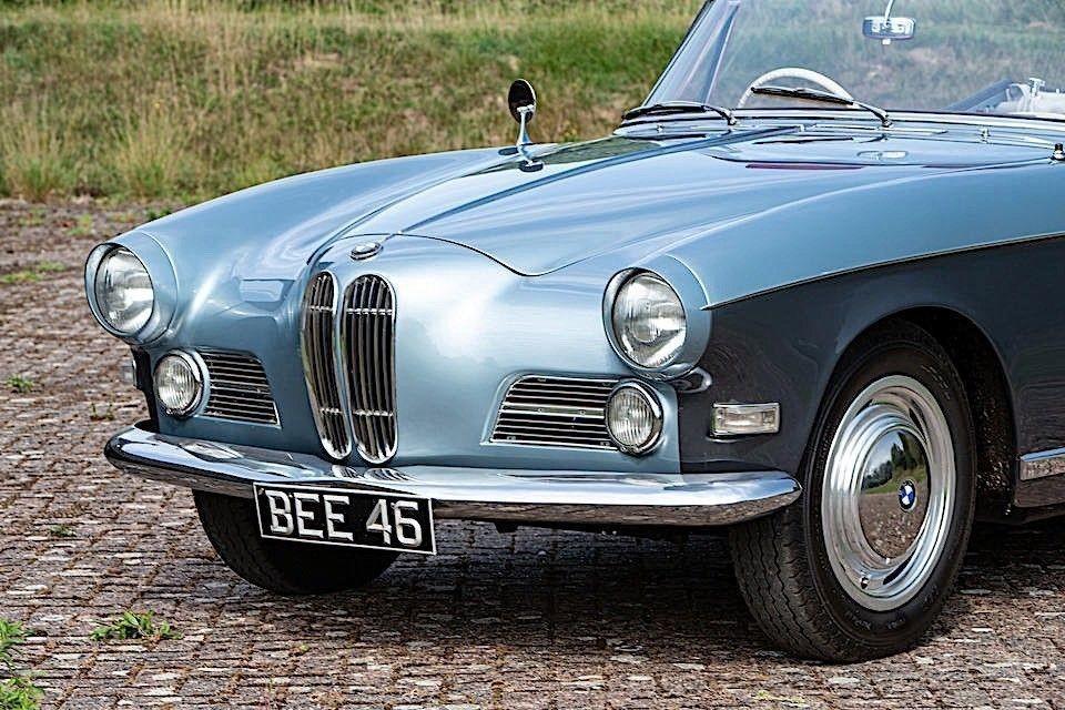 Очень редкий BMW 503 1957 года выпуска с правым рулем