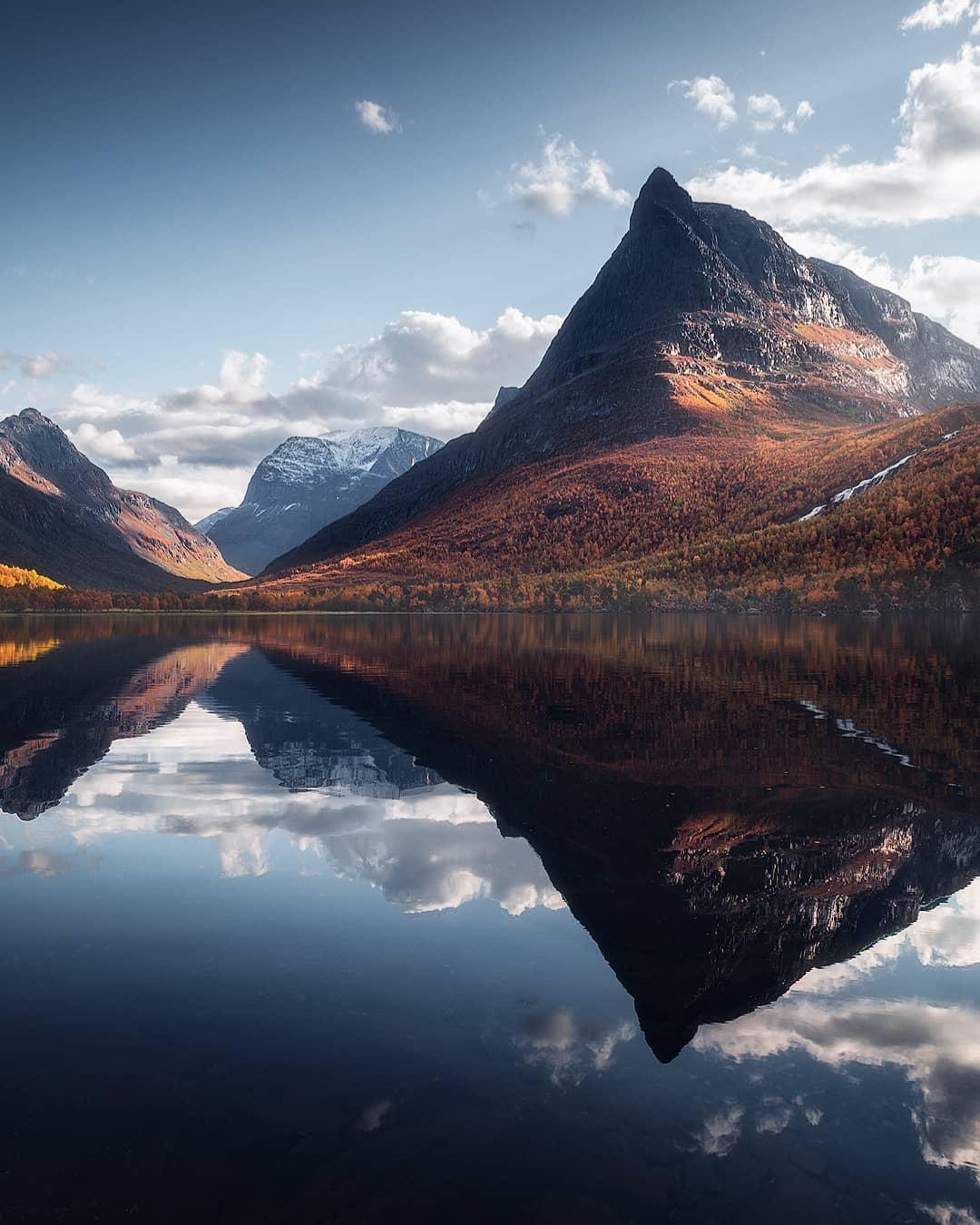Пейзажи Скандинавии на снимках Фредрика Штремме