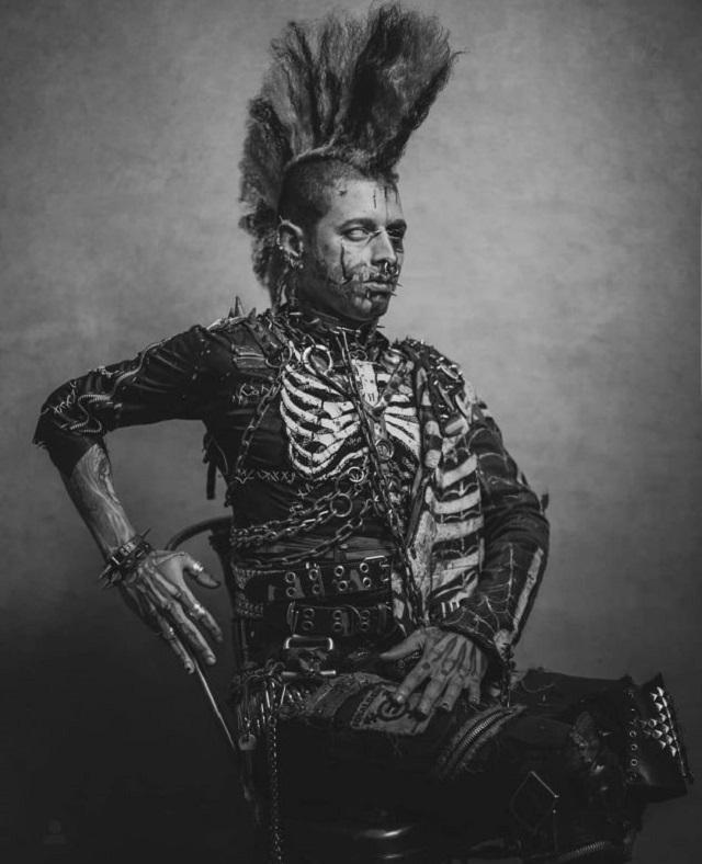 Андерсон Гарсия Родригес из Лондона превратил себя в зомби