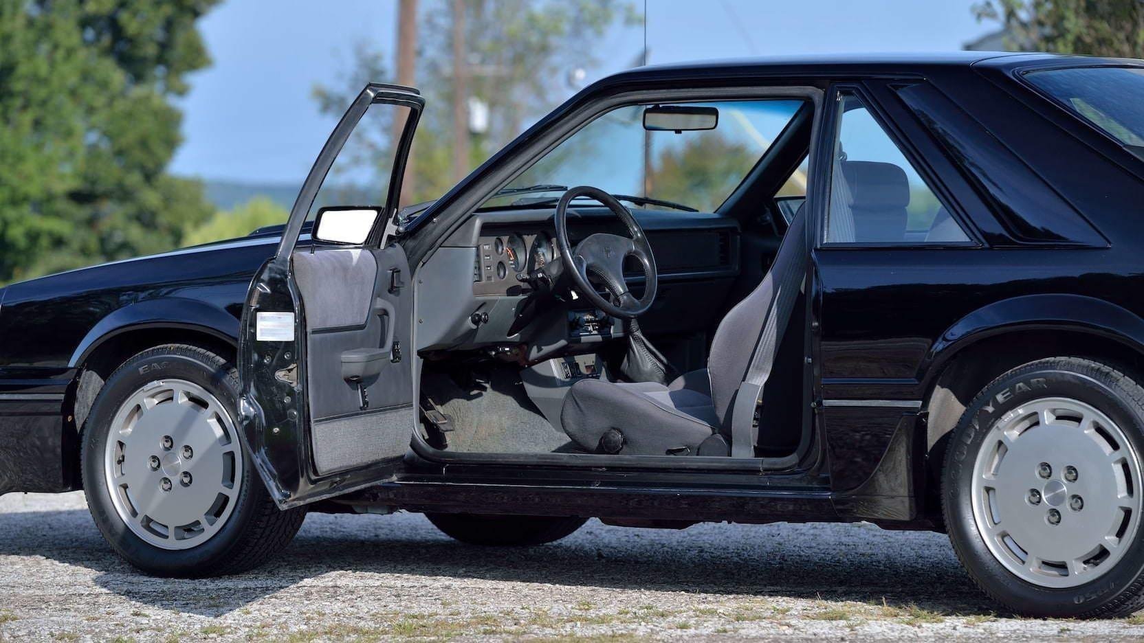 Ford Mustang SVO — топовый Мустанг без V8