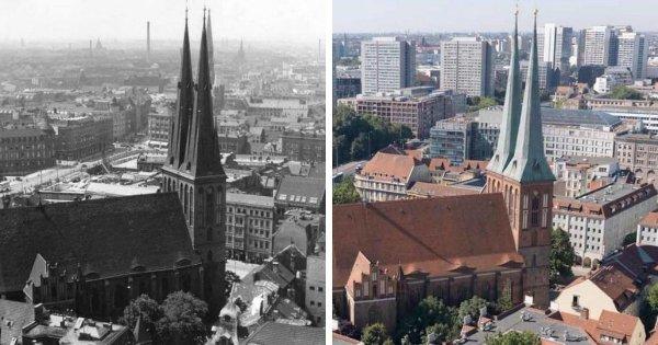 Как сильно менялись известные места мира в течение десятилетий