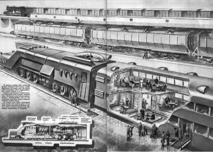 Советский атомный поезд, который остался на страницах газет