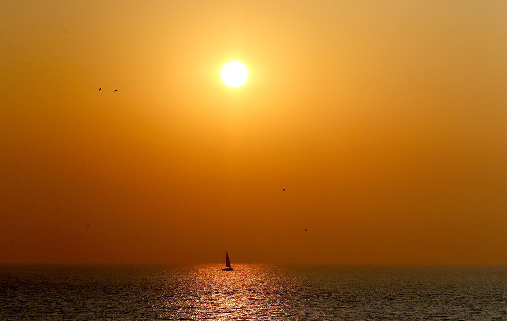Красивые рассветы и закаты на снимках