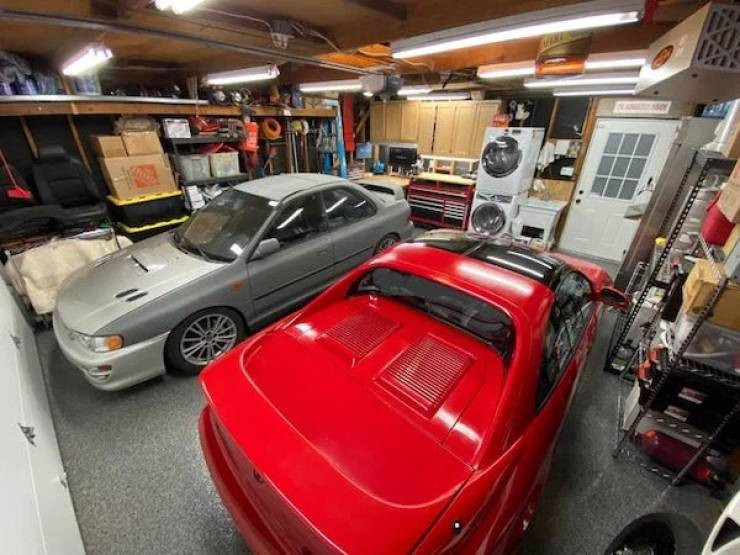 Крутые гаражи, которыми могут похвастаться мужчины
