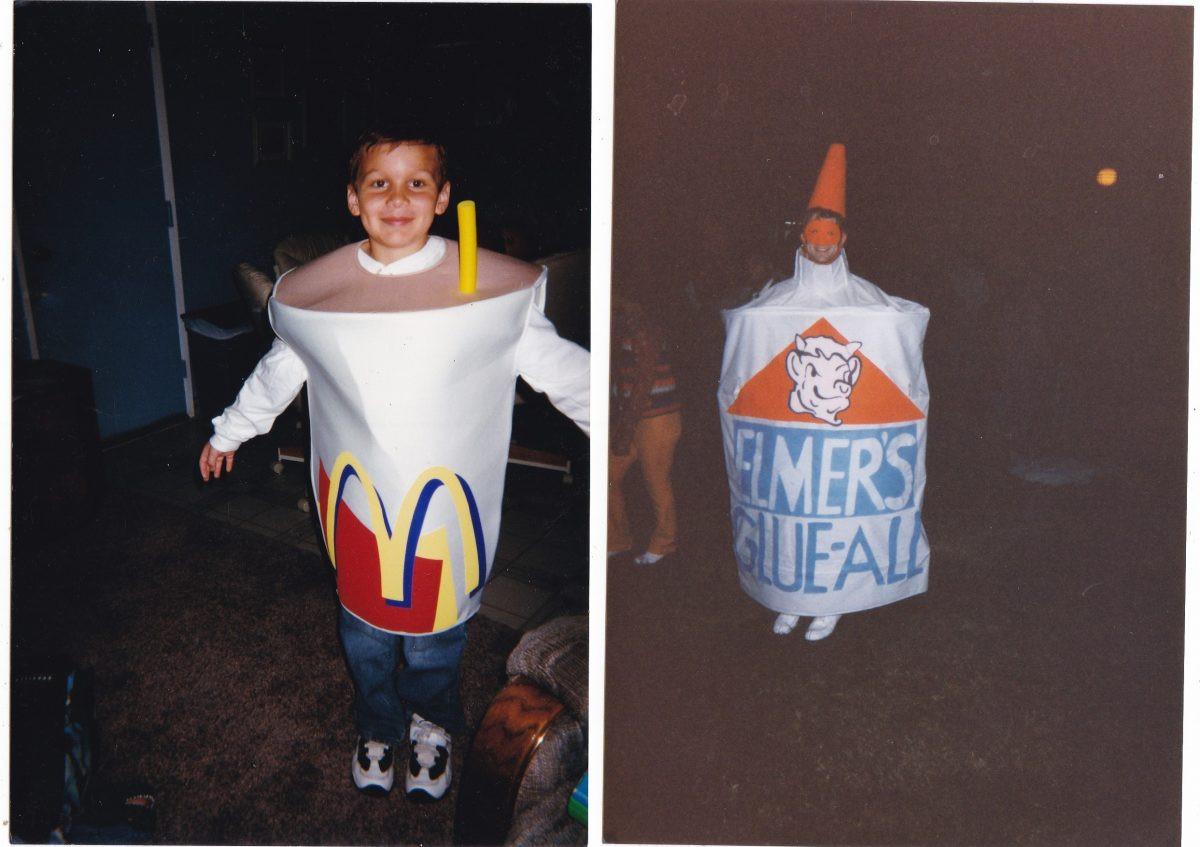 Хэллоуинские костюмы на снимках XX века