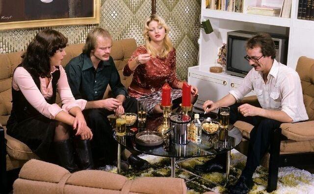 Фотографии с тусовок и вечеринок в 1970-х годах