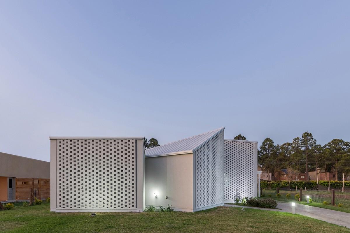 Модульный дом для молодой семейной пары в Аргентине