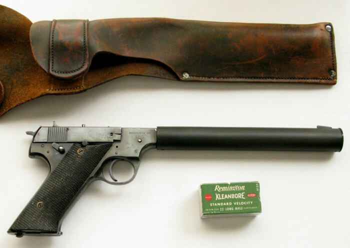 Пистолет для ЦРУ против советских разведчиков