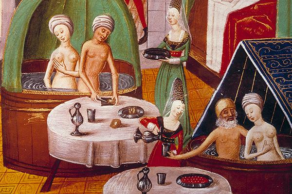 Почему боялись мыться жители средневековой Европы