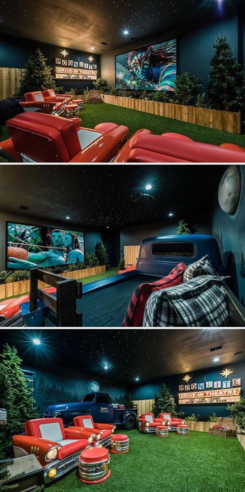 Снимки крутых домашних кинотеатров