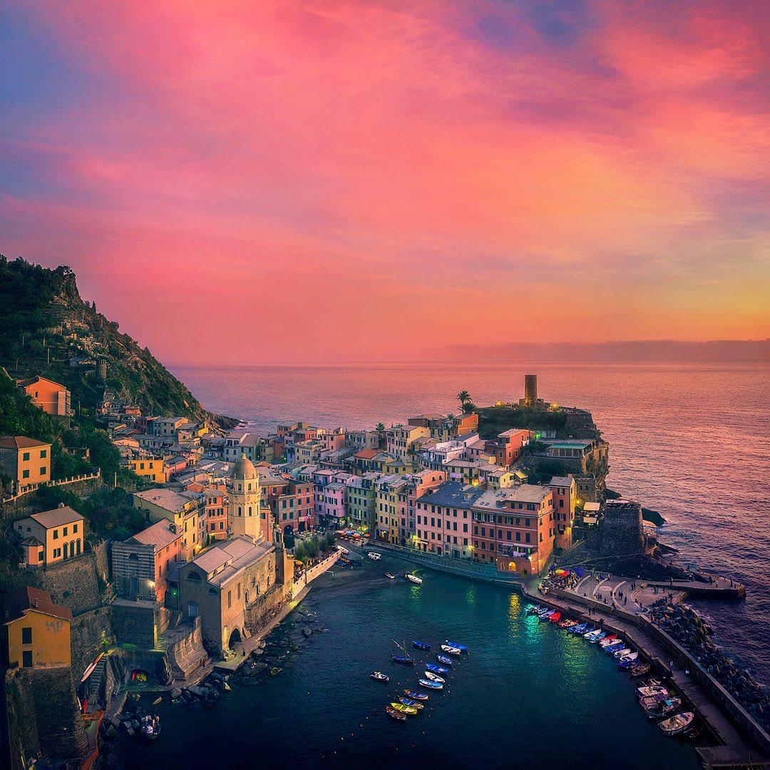 Впечатляющие пейзажные снимки от Федерико Пента Путешествия