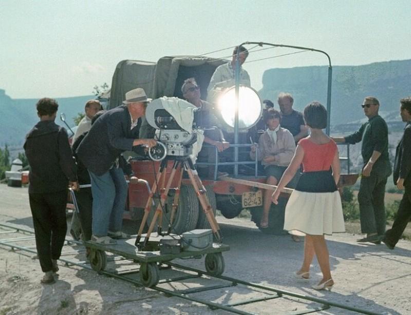 Разнообразные инциденты на съемочных площадках советских фильмов