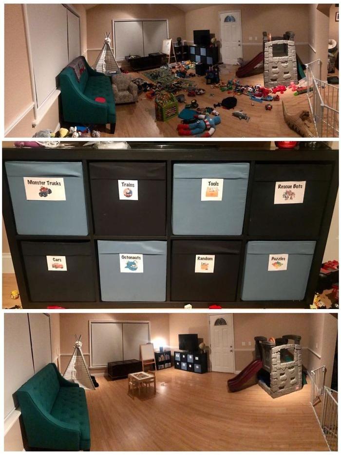 Фотографии, сделанные до и после того, как люди навели порядок