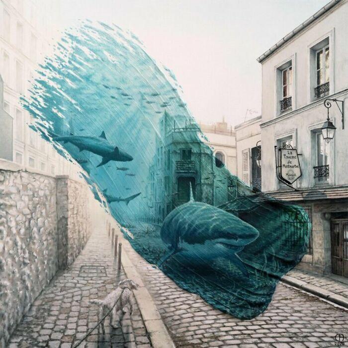 Мазки краски во времени в работах Давида Амбарцумяна