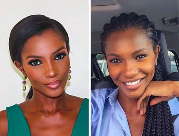 Победительницы конкурсов красоты с макияжем и без