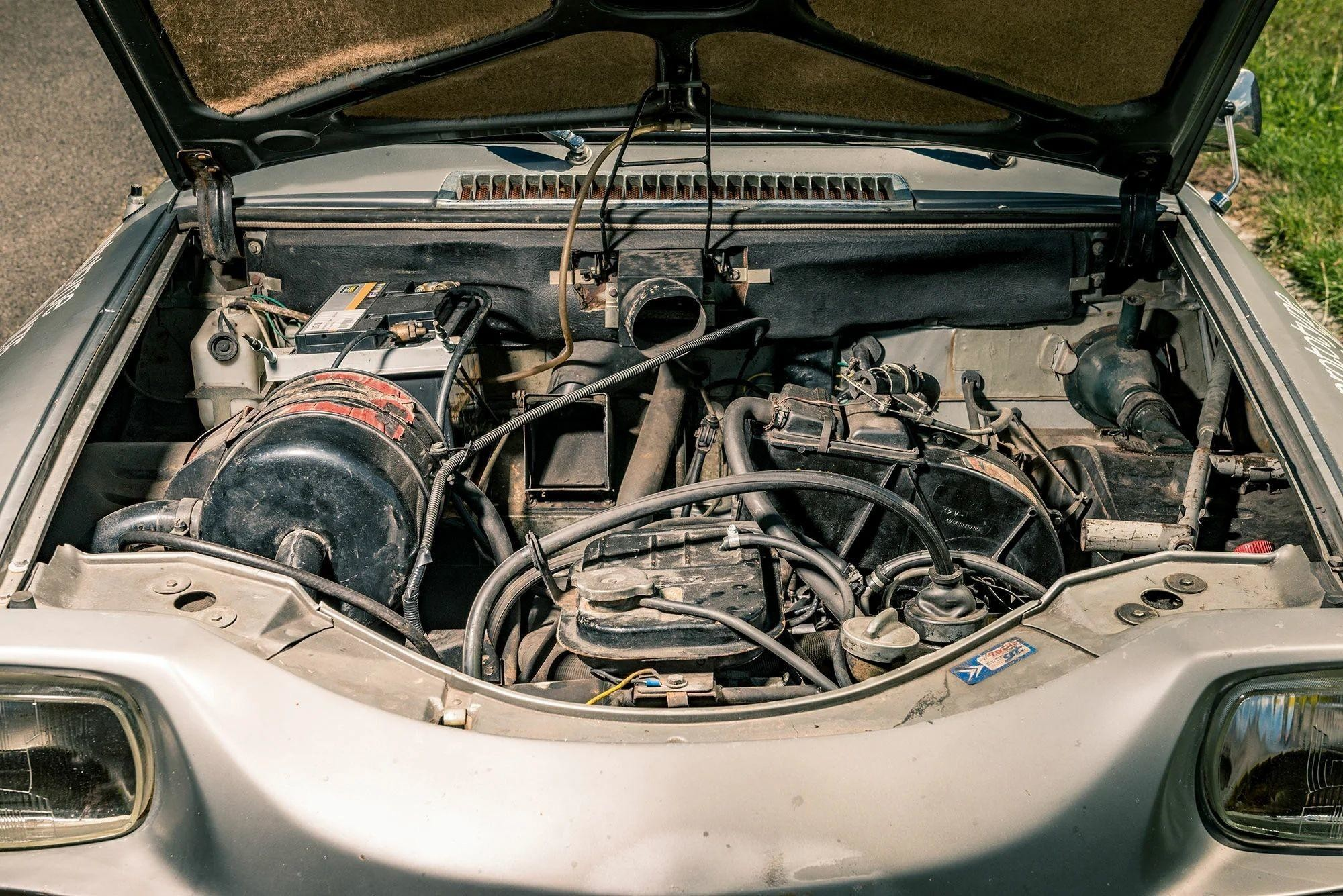 Редкий Citroen M35 с роторно-поршневым двигателем