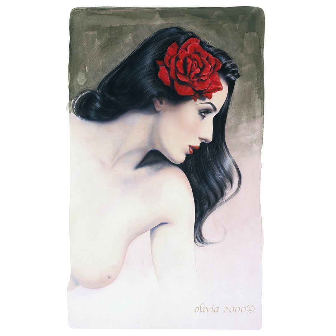 Соблазнительные пинап-красотки от художницы Оливии Де Берардинис