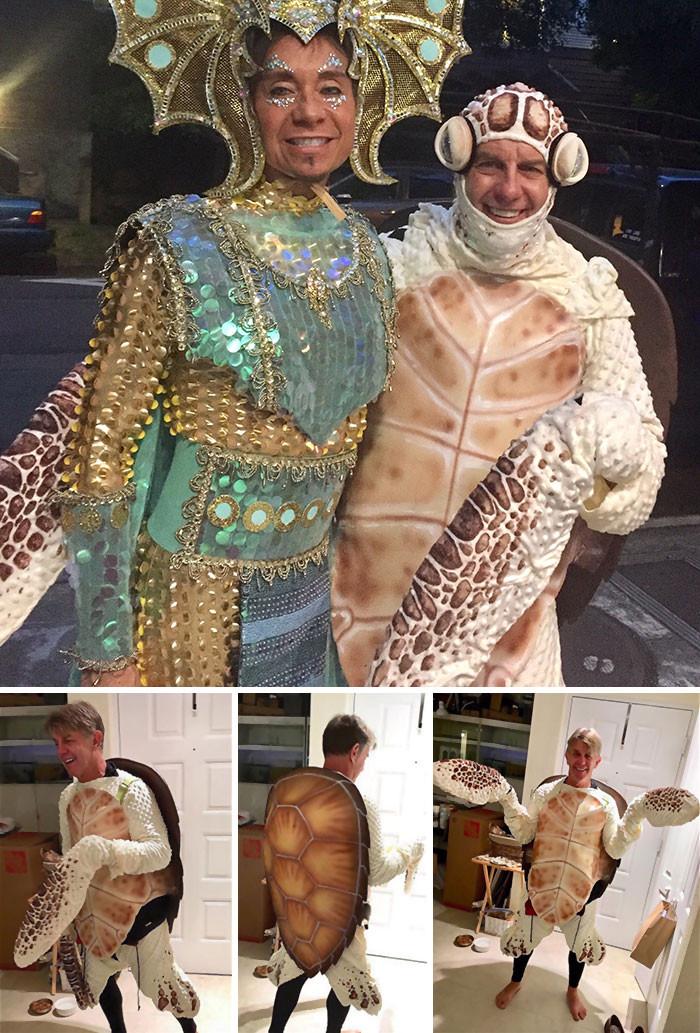 Действительно классные костюмы на Хэллоуин