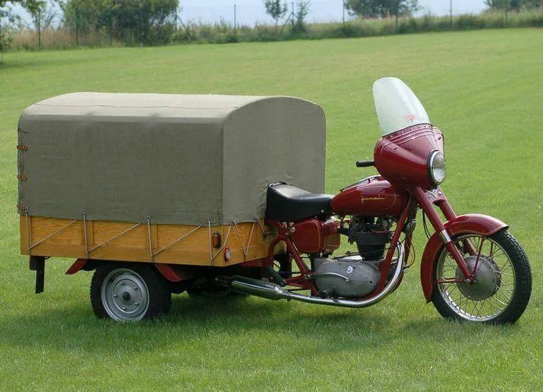 Позабытый мотоцикл Junak — польский Харлей