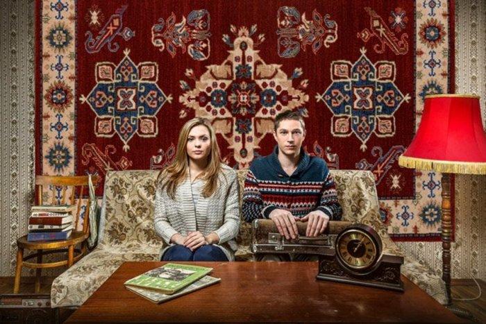 Для чего в СССР вешали ковры на стены?