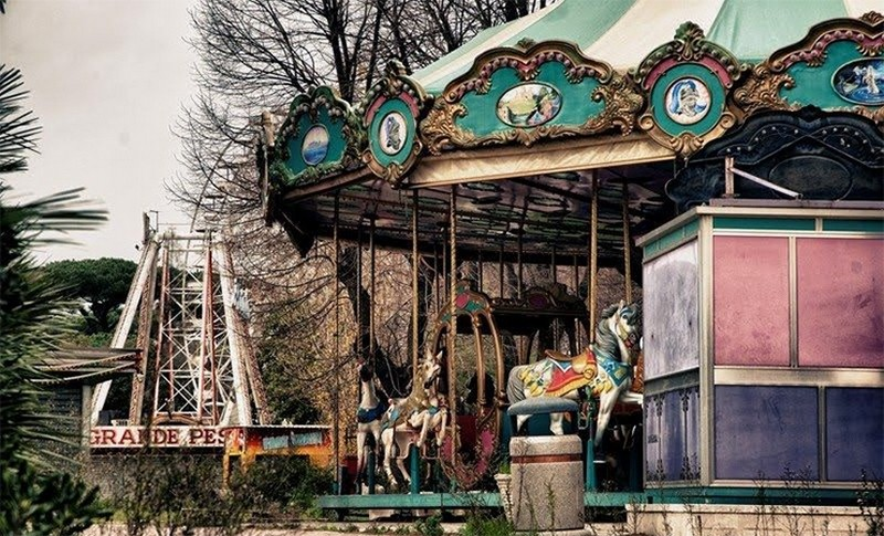 Истории заброшенных парков аттракционов и развлечений