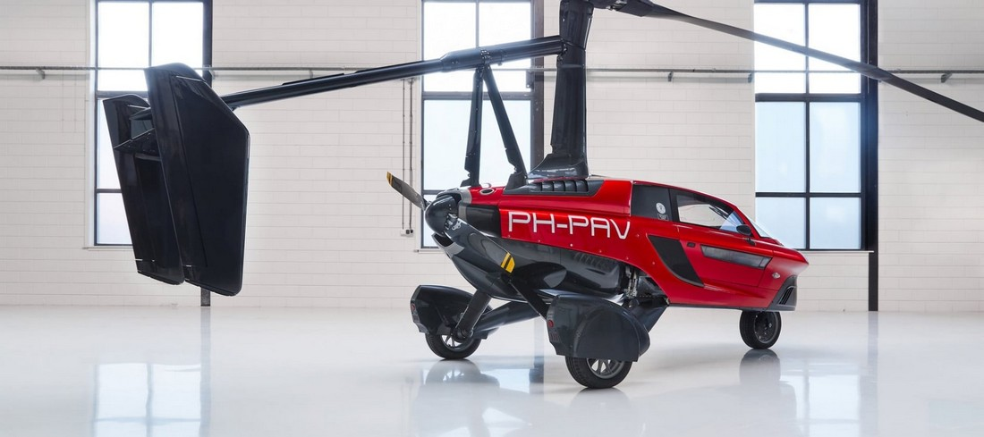 Первый летающий автомобиль получил разрешение ездить по дорогам