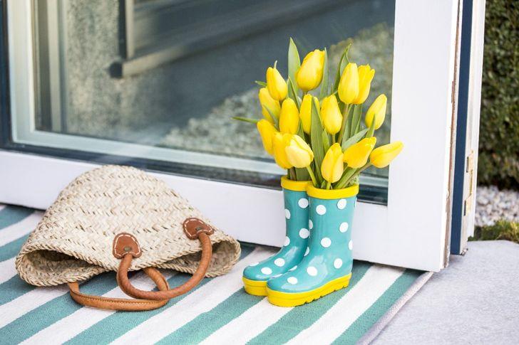 Простые способы украсить свой дом цветами